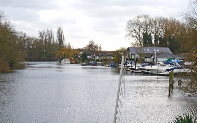 The Thames at Lower Halliford