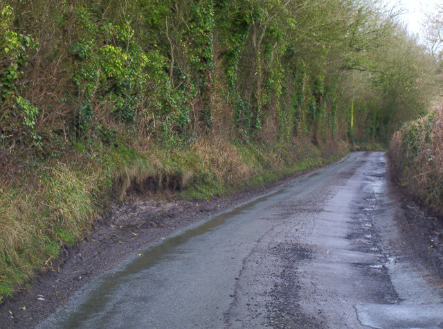 Country Lane Passing Place