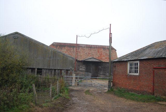 Farm buildings, Buckwell Farm