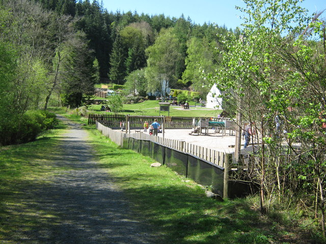 Children's play area, Kirroughtree