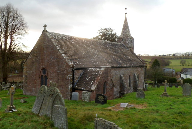 NE side of Grade I listed Church of St Mary, Welsh Newton