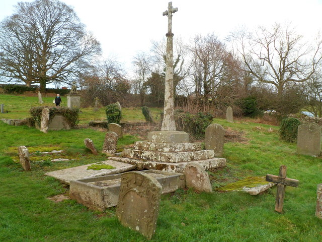 Preaching cross, Welsh Newton