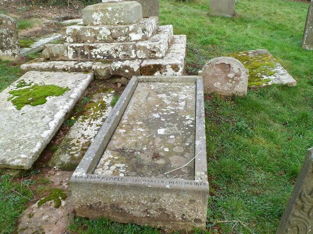 Grave of St John Kemble, Welsh Newton