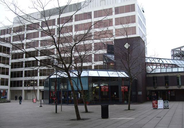The Octagon cafe, New Bridge Square, Swindon