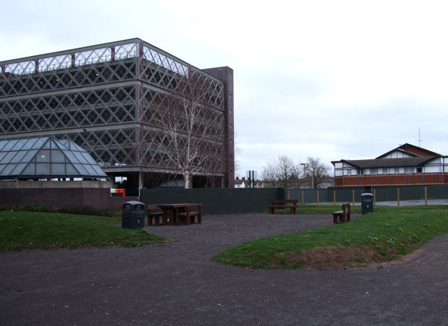 New park, former Post Office site, Fleming Way