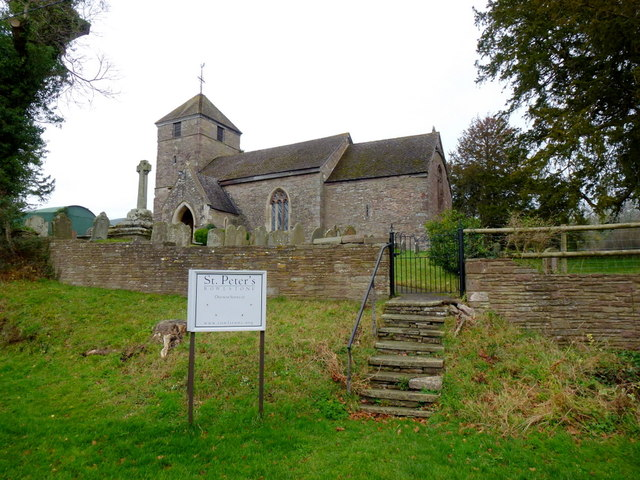 St. Peter's church, Rowlestone