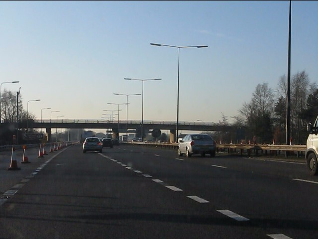 M62 motorway - joining westbound at junction 10