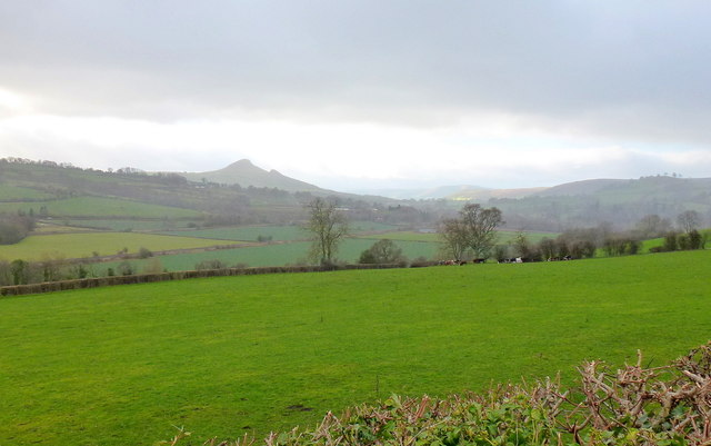 The upper Monnow valley