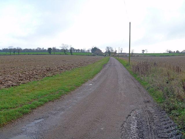 Driveway and bridleway