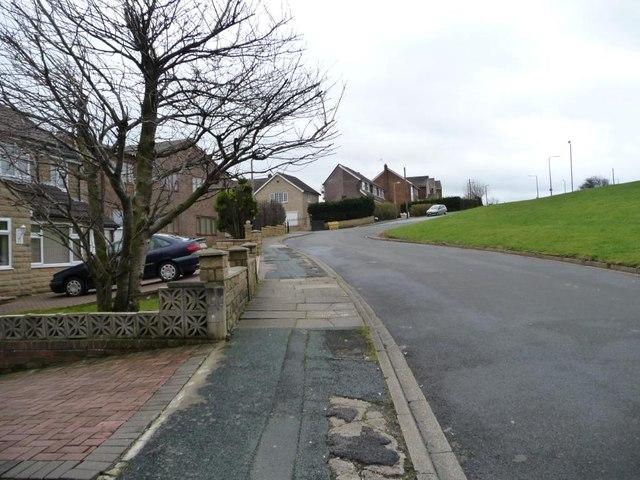 Grasleigh Way, Bradford's outer suburbs