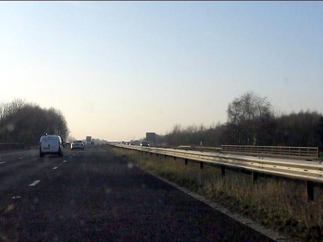 M62 motorway at Union Bridge