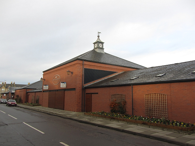 Entrance, Musselburgh Racecourse