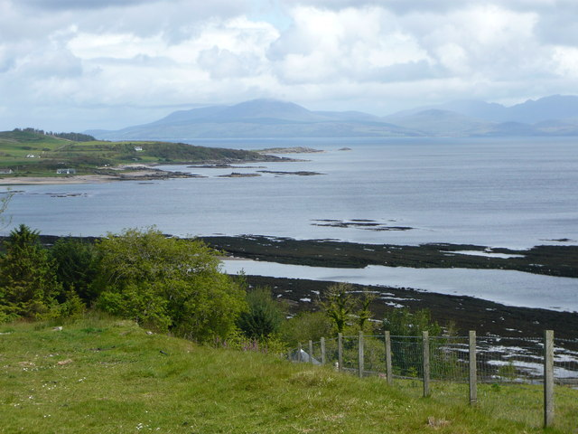 Ardnacross Bay with Arran behind
