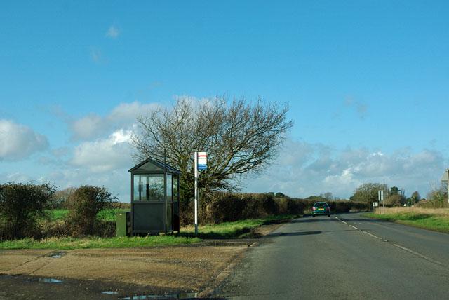 Horsemere Green Lane bus stop
