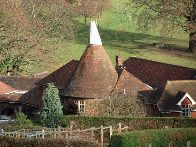 Oast House at Honnington Farm, Vauxhall Lane, Southborough