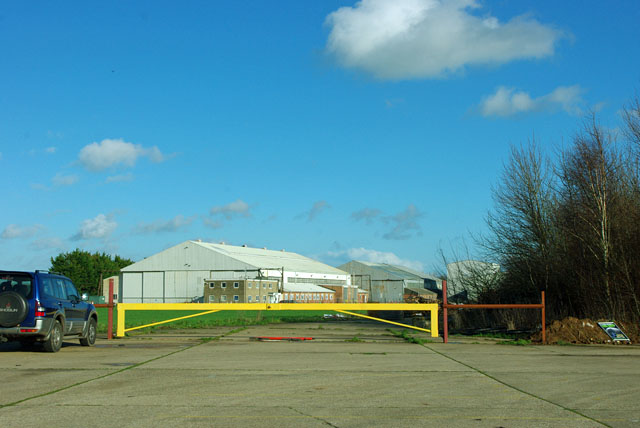 On the old airfield
