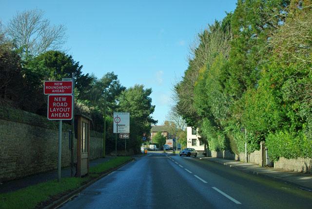 New road layout at Yapton?