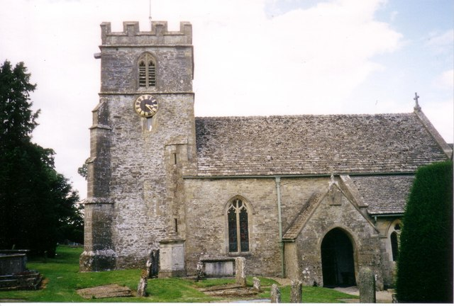 Miserden Church 1998