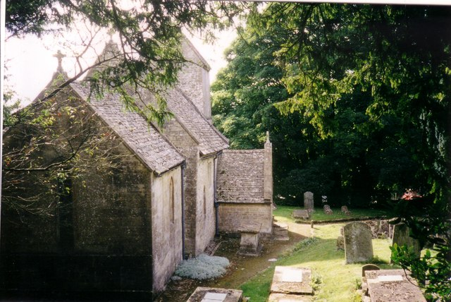 The Church of St Mary the Virgin at Syde 1998