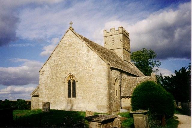 Parish Church of St Michael in Brimpsfield 1998