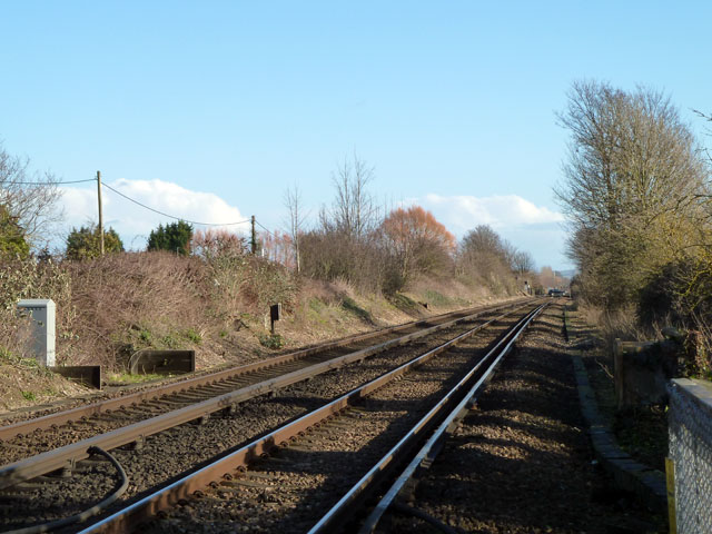 Railway east of Barnham