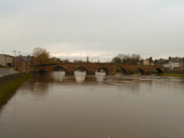 The Old Bridge in Dumfries