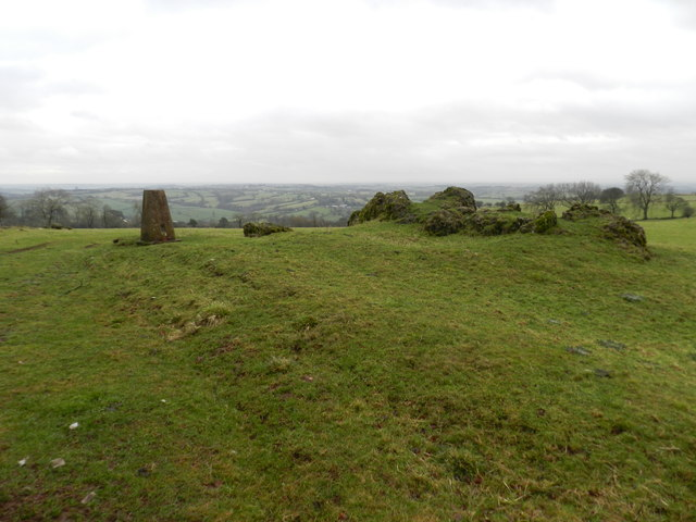 Trig Point on Madge Hill