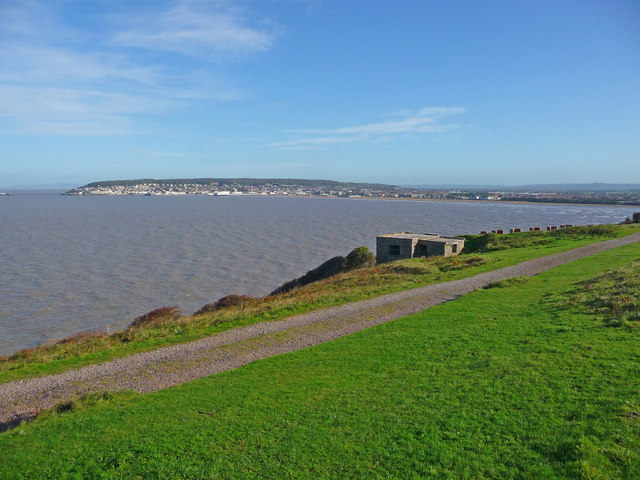 Brean Down - Weston Bay