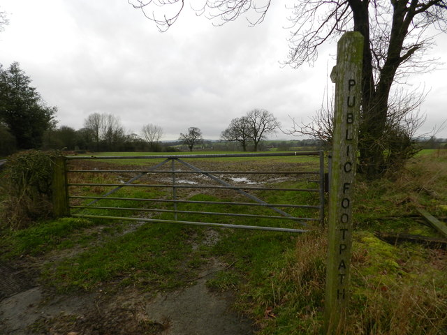 Footpath off Pinfold Lane
