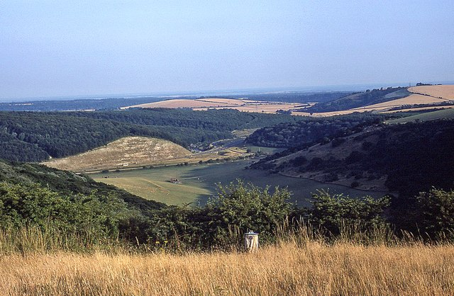 The view south from Butser Hill