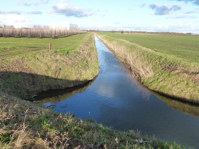 Drain off Redmoor Lane near Begdale