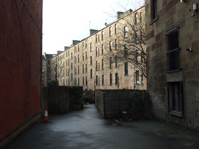Tenements on Chancellor Street