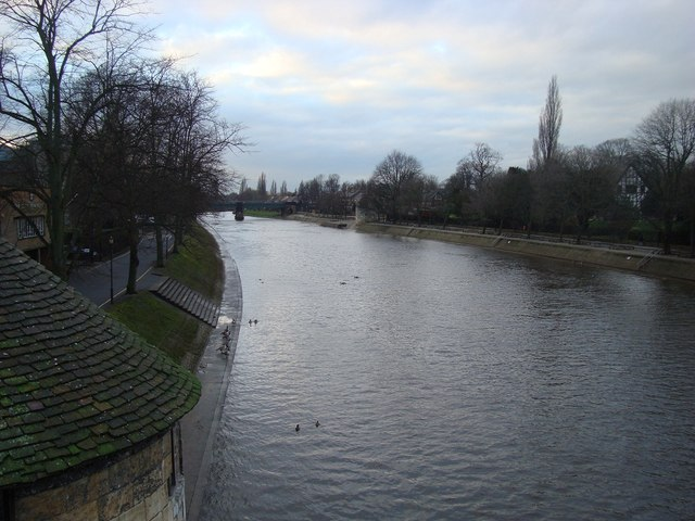 The River Looking Towards Clifton Long Reach, York