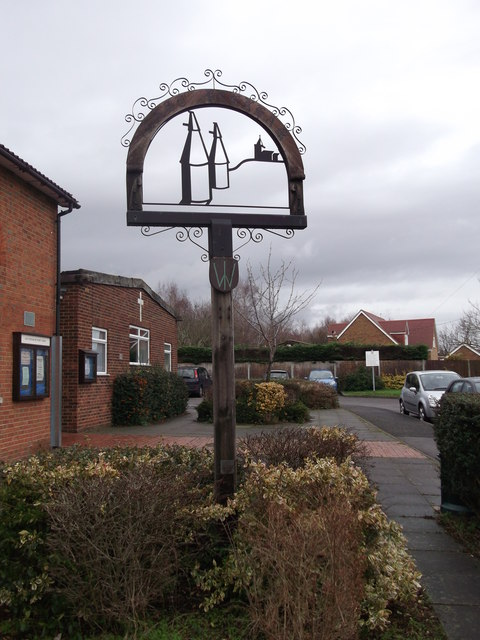 East Peckham Village Sign