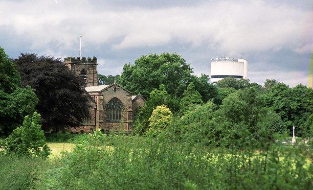 All Saints' Church, Daresbury