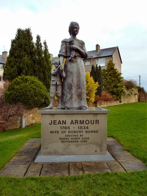 Jean Armour and child