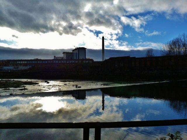 Burton weir, River Don