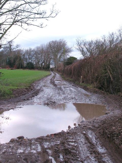 Mind the muddy bit