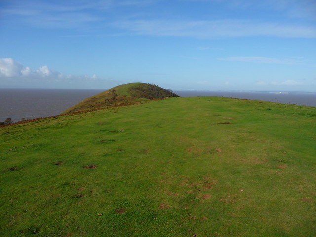 Brean Down - Top Of The Hill