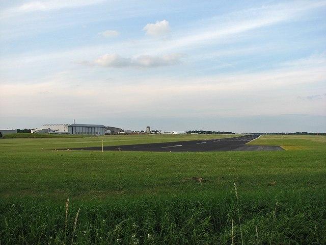 Cambridge Airport runway