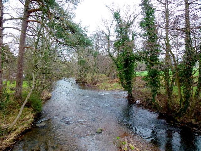 The Monnow/Honddu confluence