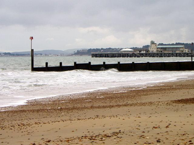 Groyne near Bournemouth