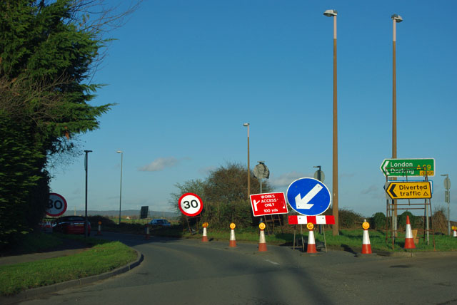 Work on the A29