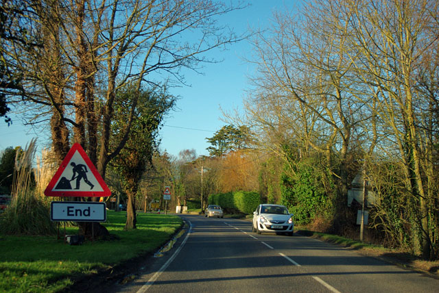 End of road works, Shripney