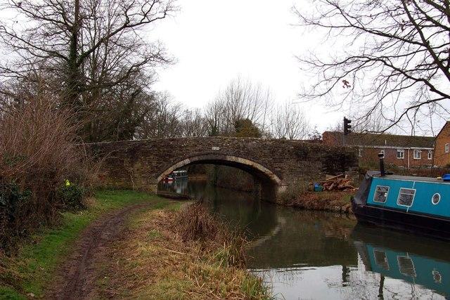Yarnton Bridge over the Oxford Canal