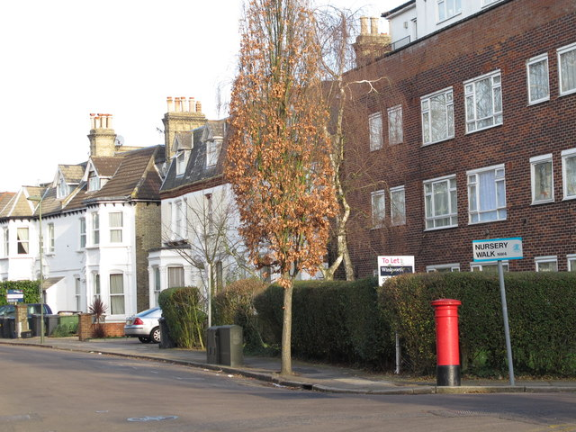 Sunningfields Road / Nursery Walk, NW4