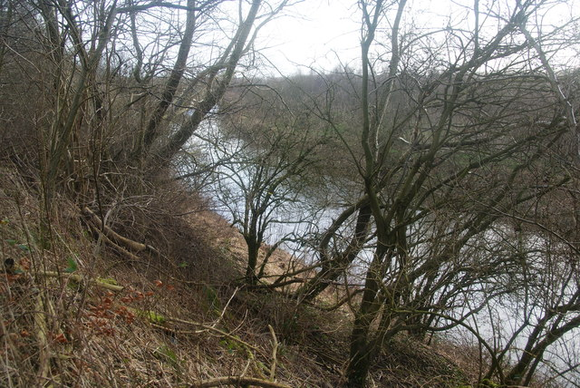 The banks of the River Irwell