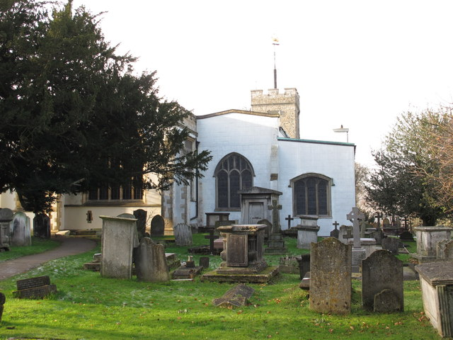 The Church of St. Mary, Church End, NW4