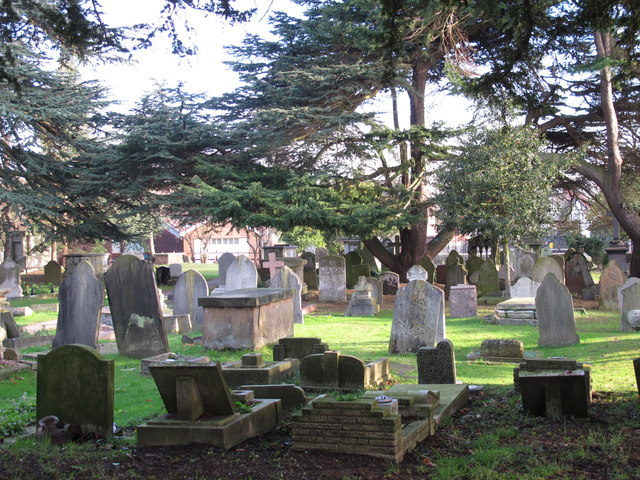 The Church of St. Mary, Church End, NW4 - graveyard (2)