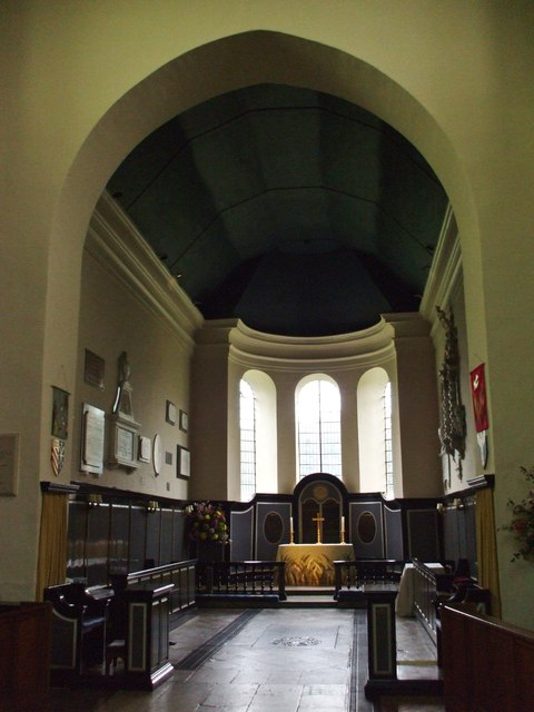 Interior of  St. Gregory & St. Martin, Wye